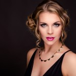 Janina Glamour Shooting roter Teppich