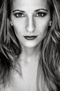 Iris Gesichtsportrait